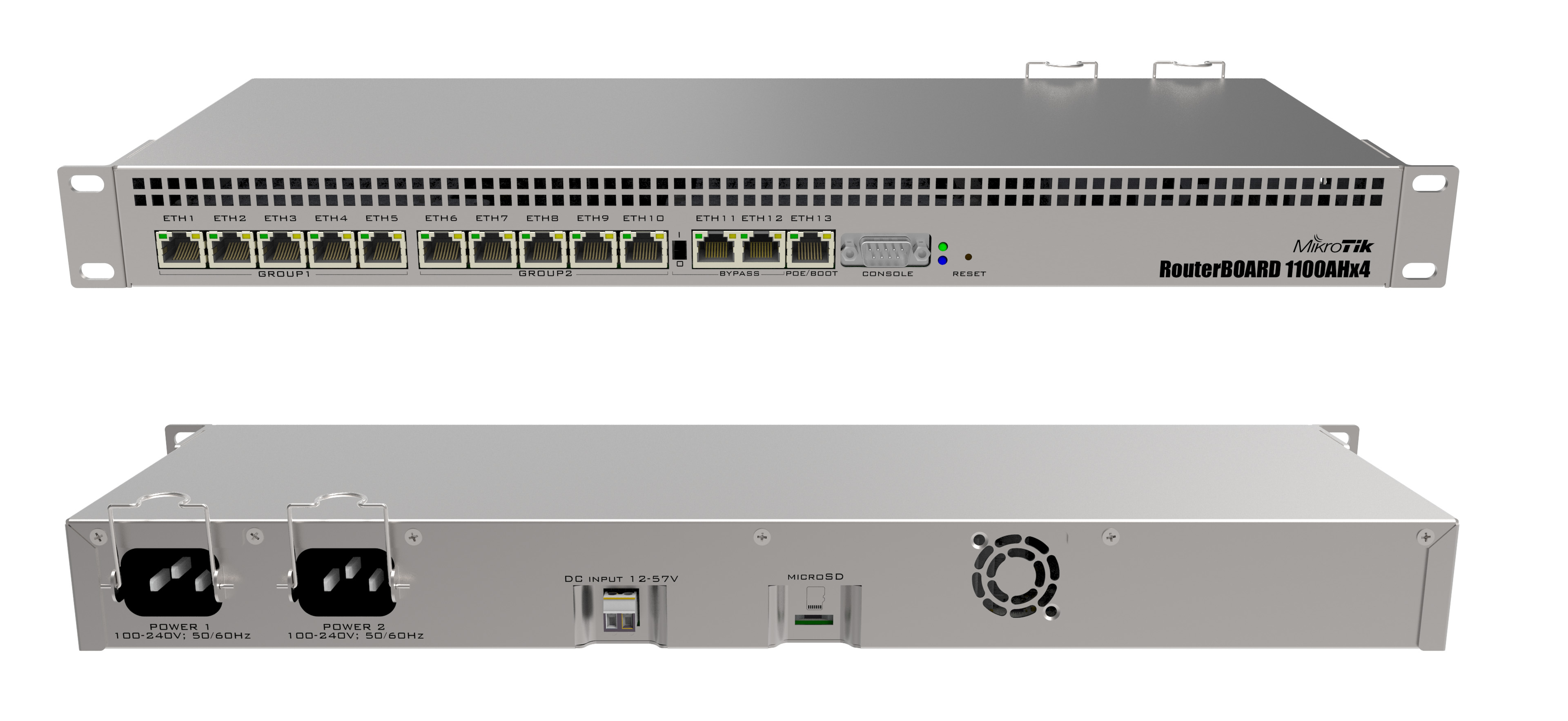 RouterBoard Mikrotik RB1100AHx4 13-ports
